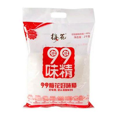 梅花味精100克 2000克多规格 玉米提取代替鸡精粉家庭厨房调味料