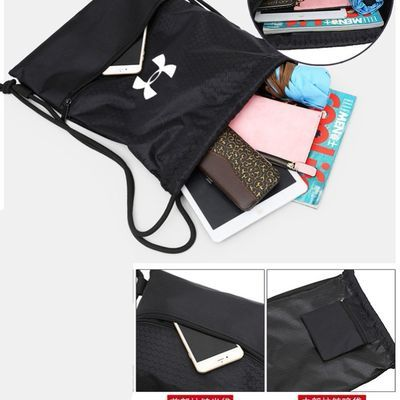 束口袋抽绳双肩包男女游泳防水轻便折叠户外旅行运动健身篮球鞋背