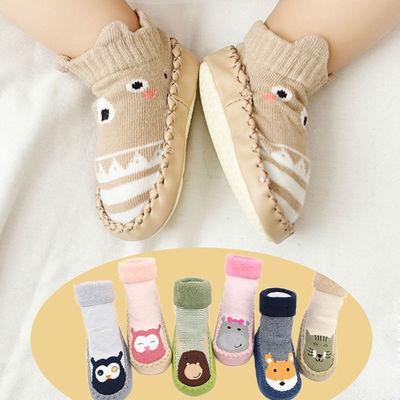 婴儿鞋袜防水软底学步鞋0-3岁 秋冬男女婴儿新生儿防滑宝宝步前鞋