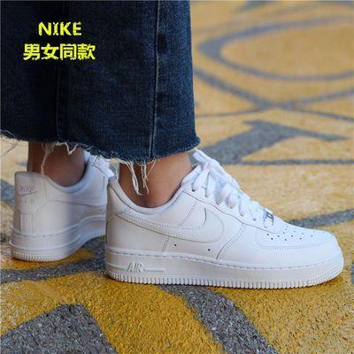 空军一号板鞋透气男鞋女鞋低帮运动鞋学生高帮休闲小白鞋情侣鞋子