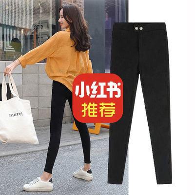 黑色打底裤女外穿魔术九分小脚夏季薄款紧身夏天2020新款裤子显瘦