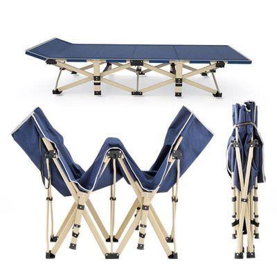 折叠床成人躺椅单人床家用午休床办公室午睡床便携陪护简易休息床