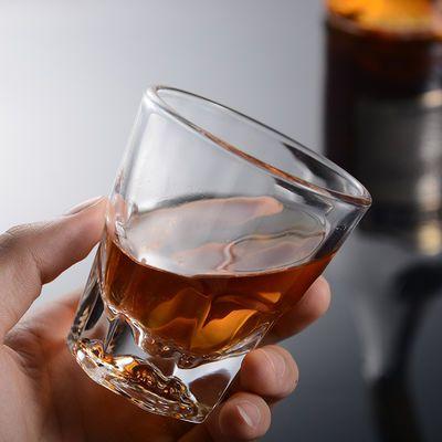 10只装钢化玻璃啤酒杯套装威士忌杯家用八角杯酒吧KTV啤酒杯子