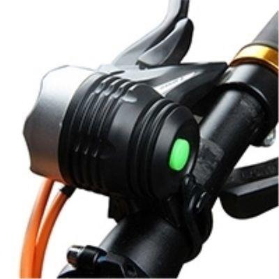 自行车灯 前灯 3挡光远射山地车夜骑行灯手电筒单车配件骑行装备