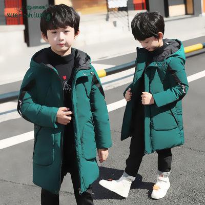童装男童棉衣中长款冬装加厚小孩冬天衣服儿童棉服外套反季清仓