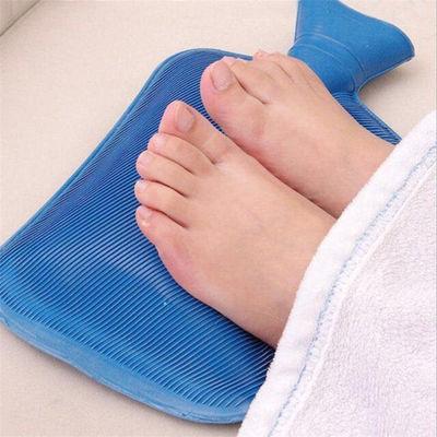 热水袋注水毛绒布套老式橡胶暖水袋暖手宝暖脚袋迷你加厚防爆学生
