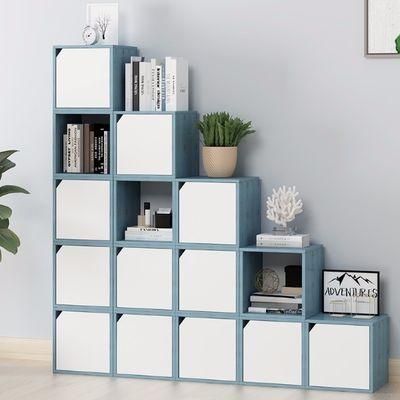 子木语方格柜自由组合格子柜简约现代书柜书架学生储物柜收纳柜