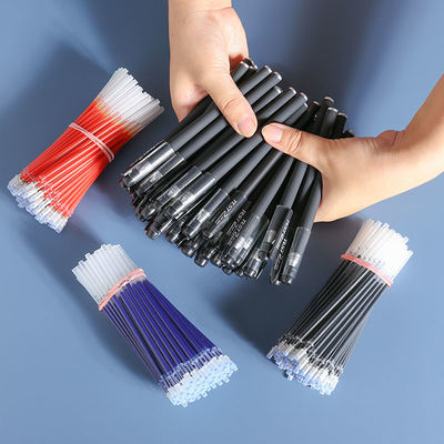 黑色磨砂中性笔0.5子弹头全针管碳素笔水性笔办公学生学习用品主图