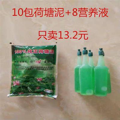碗莲睡莲专用土水生植物营养土荷花泥营养液河泥河塘泥淤泥荷塘泥