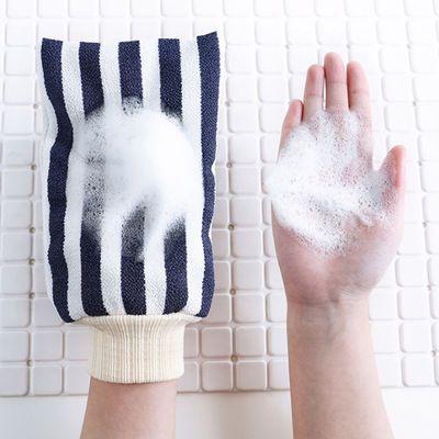 搓澡神器沐浴球搓澡巾拉背条成人双面强力去污搓泥粗砂手套洗澡巾