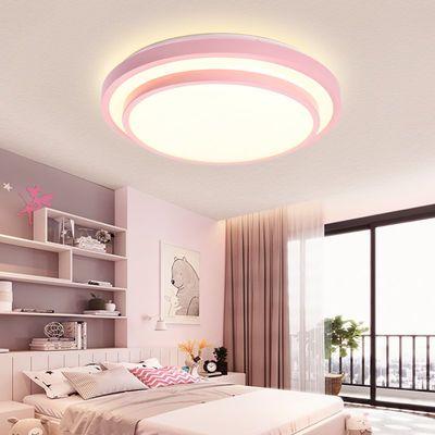 LED圆形吸顶灯客厅灯卧室灯儿童房间走廊过道卫生间阳台灯饰灯具