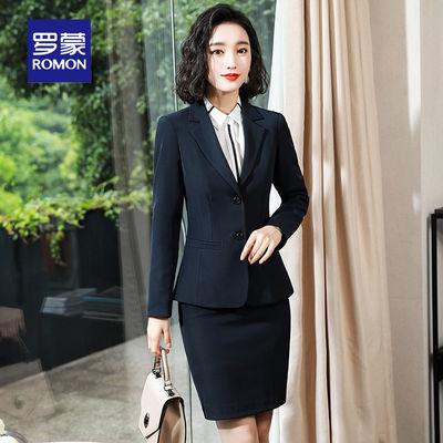罗蒙单件/套装正装女款春季职业装女西服气质小西装套装女工作服