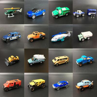 MATCHBOX火柴盒城市英雄小车 模型玩具越野车奔驰跑车工程车散装