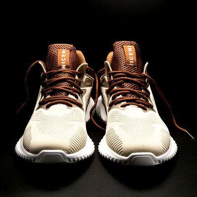 秋季新款潮流男鞋运动鞋百搭网面透气男士休闲跑步鞋学生老爹鞋子