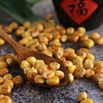 玉米豆爆米花黄金豆哑巴手工炒制东北零食小吃黄金玉米豆