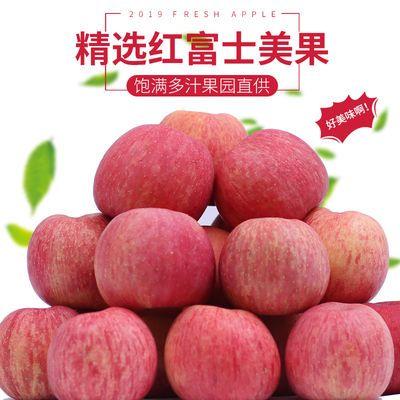 山西当季红富士苹果新鲜水果现摘现发礼盒装净重5斤带箱10斤批发