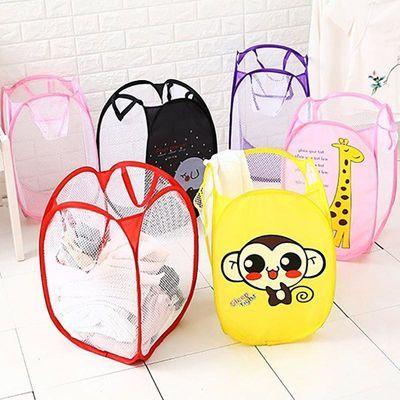 家用布艺脏衣篓脏衣篮折叠玩具衣物放脏衣服的收纳筐收纳桶洗衣篮