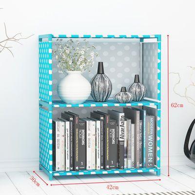简易书架多功能组合置物架现代简约儿童储物收纳柜学生宿舍书柜