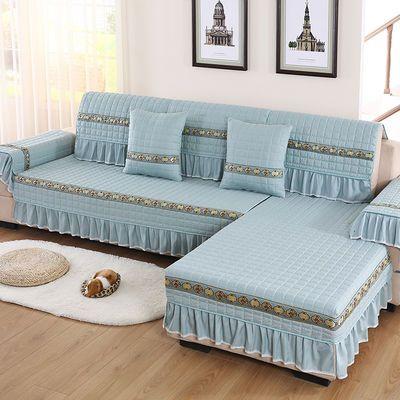 四季通用沙发垫欧式现代简约防滑沙发坐垫沙发套全包贵妃沙发套罩