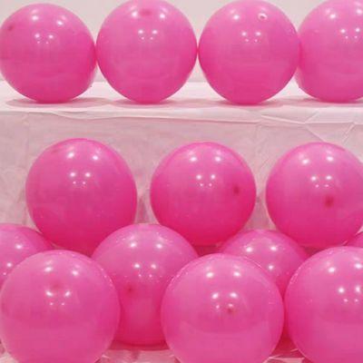 节日装扮气氛布置亚光加厚气球批发100个/袋双色拱门装饰