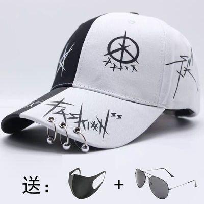 夏天帽子男韩版学生鸭舌帽男女士棒球帽子男夏季男生情侣遮阳帽