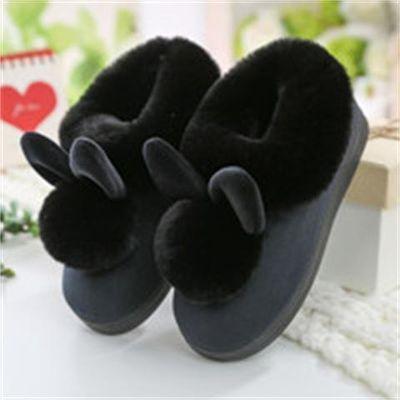 【反季特卖】棉拖鞋秋冬季男女情侣家居家保暖包跟月子鞋毛毛拖鞋