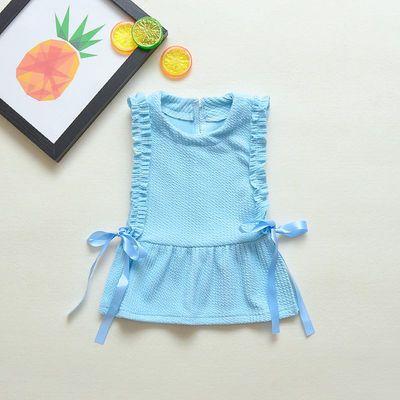 童儿新款三件套婴儿衣服春秋套装公主长袖秋装周岁女童儿童宝宝