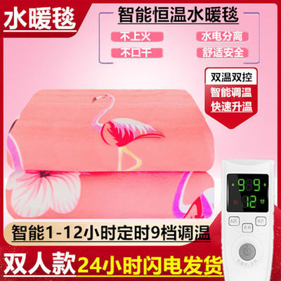 水暖电热毯双人双控家用三人2米大单人宿舍电褥子安全无辐射防水