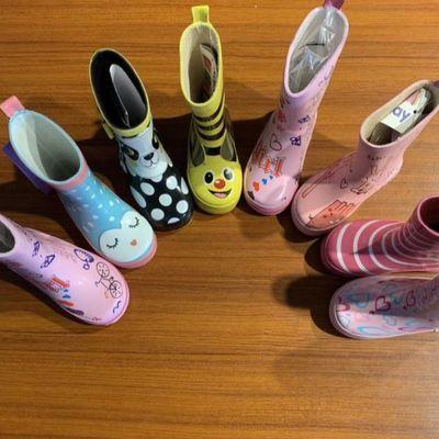 孤品特价清仓瑕疵随机发货出口儿童成人女雨鞋雨靴宝宝水鞋不退换