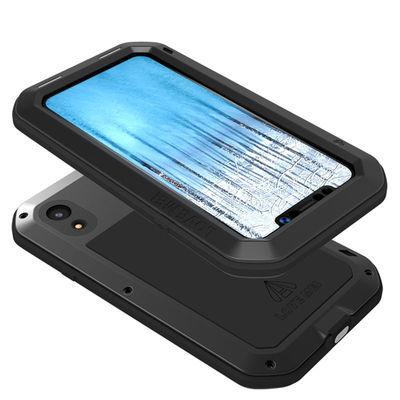 LOVE MEI 苹果iPhone XR三防手机壳防摔防爆硅胶软全包xr保护套6.