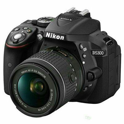 Nikon/尼康D5300套机18-55VR 单反相机入门级高清数码旅游照相机