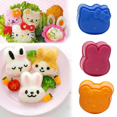 初学者寿司器紫菜包饭寿司卷帘海苔萝卜条饭团压花器寿司工具套装