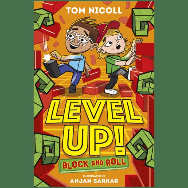 正版書籍 漫畫 小說 【中圖英文】level up block & roll 英文原版進口書籍