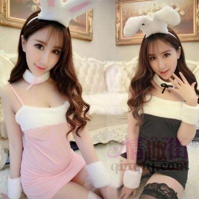 情趣街新款情趣内衣女兔女郎角色扮演套装SM激情性感睡裙制服诱惑