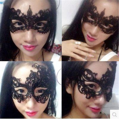 情趣街性感镂空眼罩夜店化妆舞会派对时尚表演面具情趣内衣SM配饰