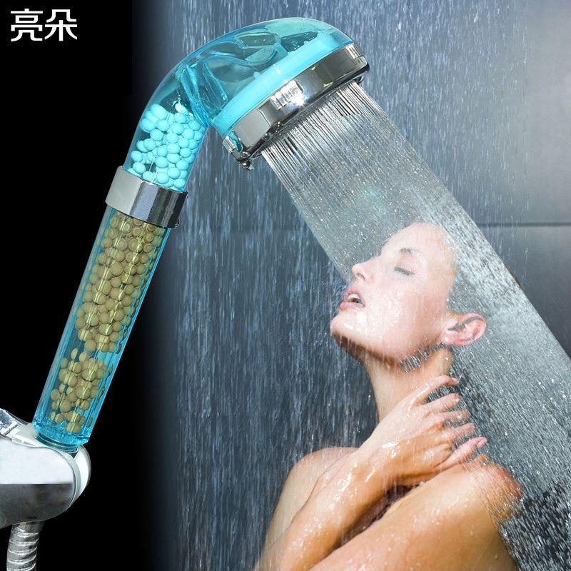 淋浴花洒喷头手持增压莲蓬头洗澡神器水龙头浴霸软管支架套装家用