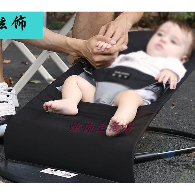 Sitting in the child shake stool courtyard sleeping basket comfort chair in the lounge chair cushion baby cot bedroom car old napping chair