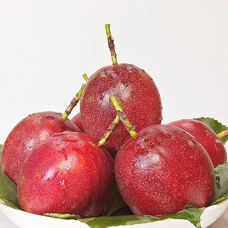 广西百香果3斤特级大红果5包邮一级水果白香果新鲜现摘当季10整箱_0