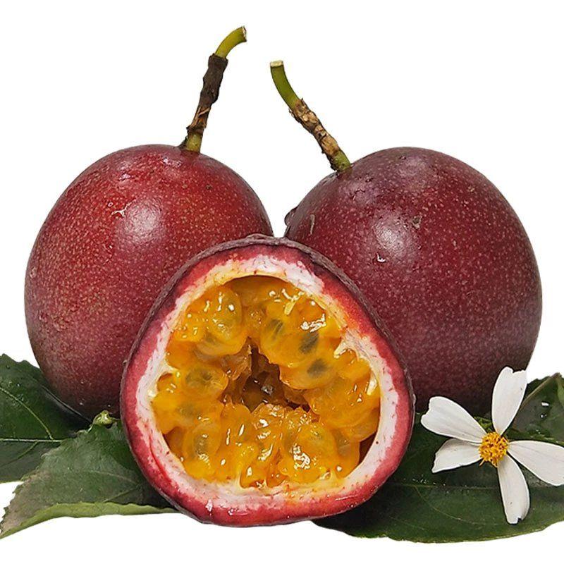 广西百香果3斤特级大红果5包邮一级水果白香果新鲜现摘当季10整箱_2