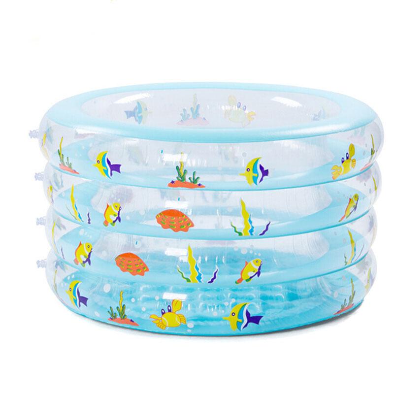 4层圆形婴儿游泳池 宝宝游泳池 儿童游泳池 家庭戏水池