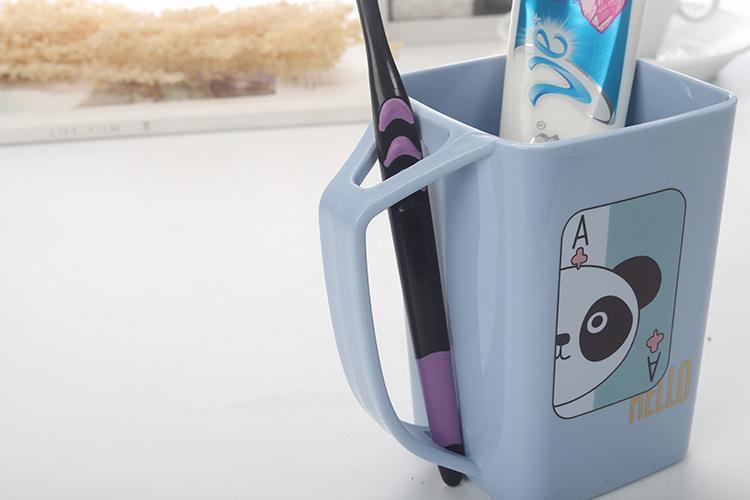 牙刷杯家用刷牙杯洗漱杯牙缸漱口杯儿童刷牙刷杯旅行便携漱口杯