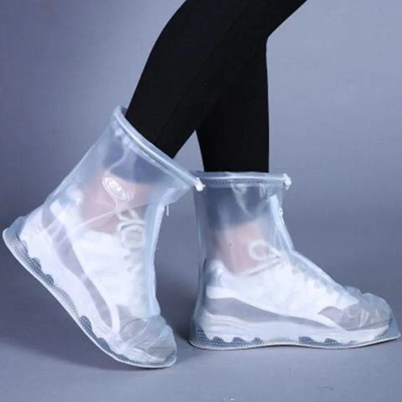 【防滑耐磨加厚款】防雨鞋套下雨天男女雨鞋套防滑防雨防水鞋套
