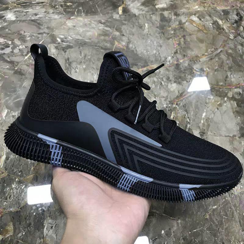 2020新款男鞋休闲韩版夏季透气运动跑步鞋网鞋布鞋老爹鞋子男潮鞋