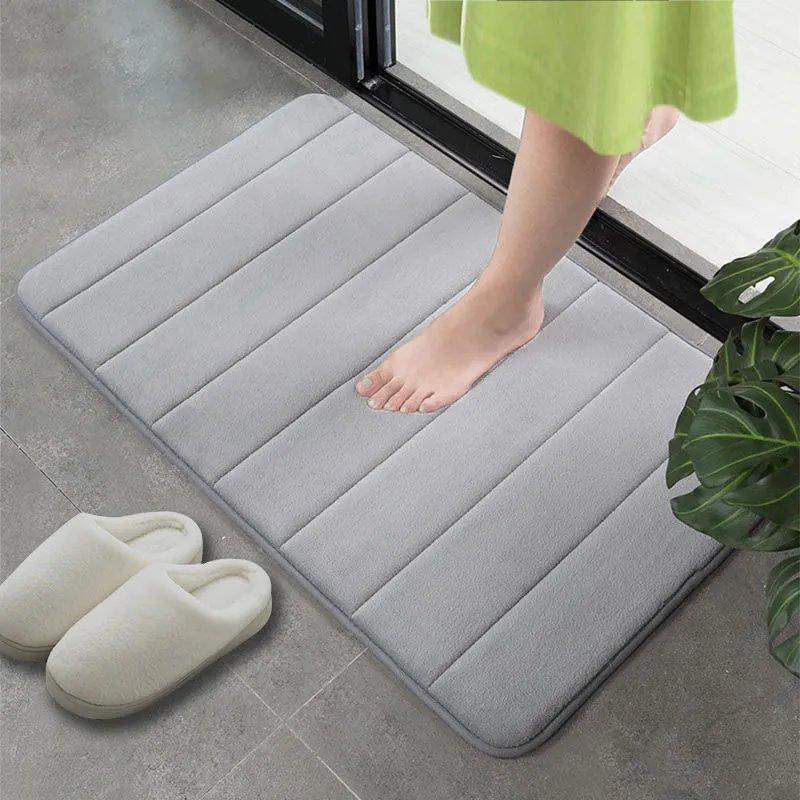 浴室地垫进门吸水防滑垫卫生间门垫地垫厨房卧室垫床边脚垫卫浴垫