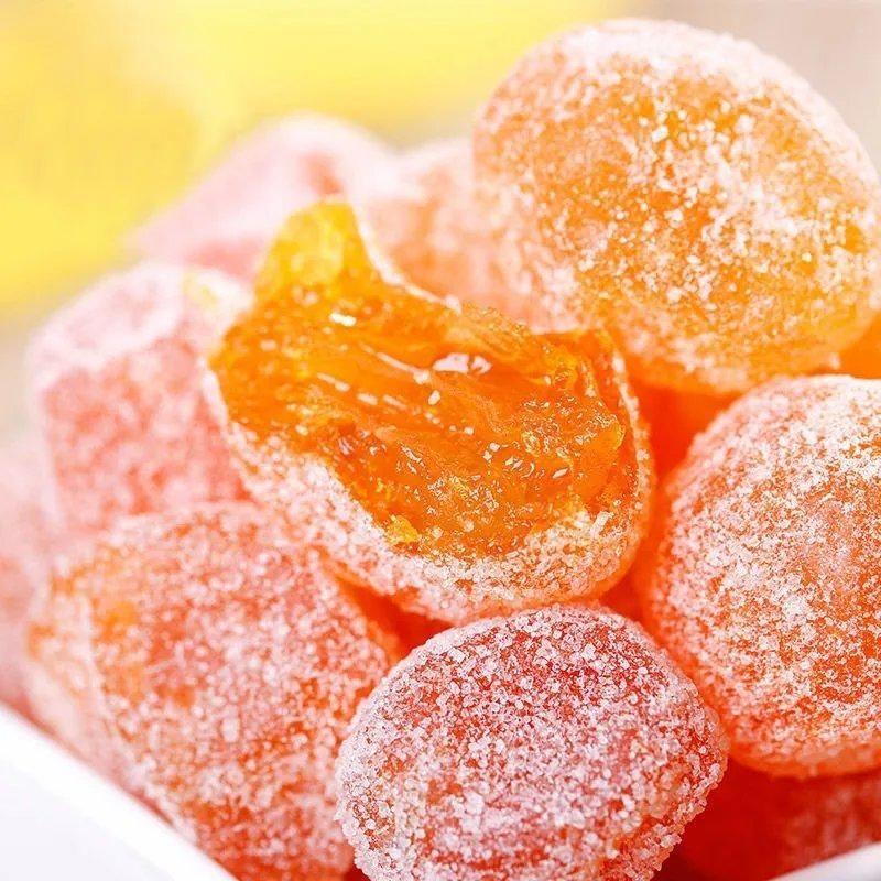 天山雪桔500g新疆冰糖金桔干特产金橘干金桔果干蜜饯零食118g