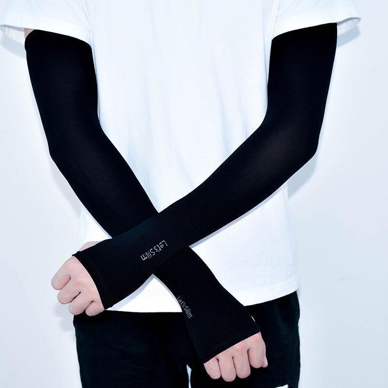 【男女通用】冰丝袖套夏季防紫外线防晒袖套开车护臂袖套冰爽手套
