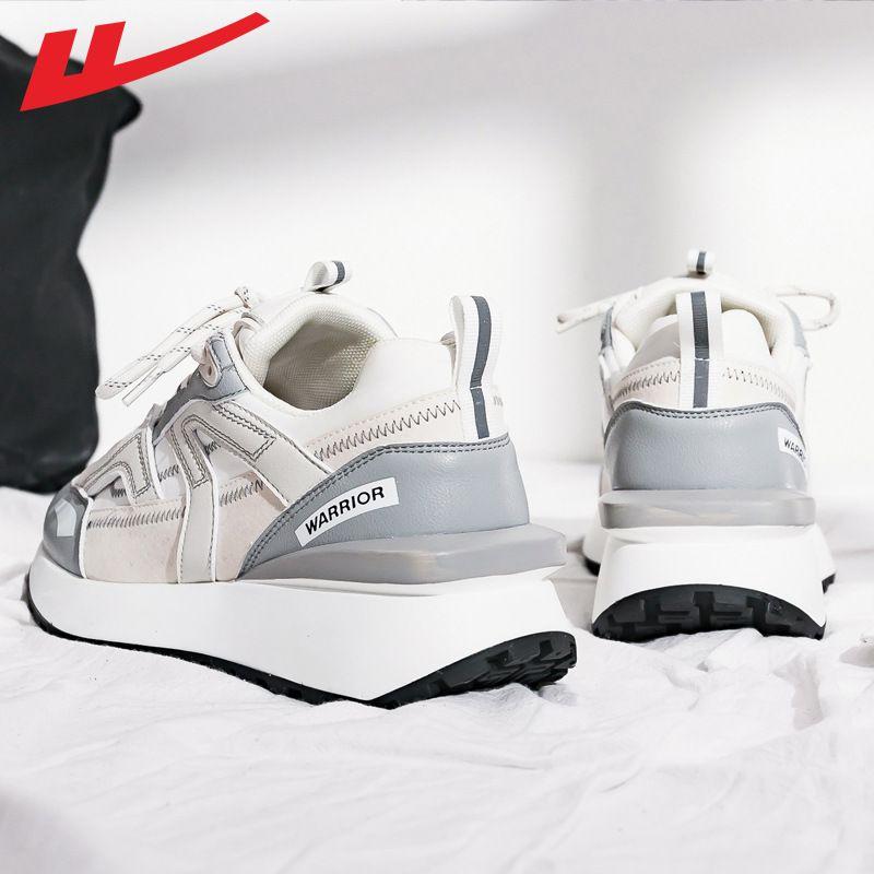 回力休闲拼色运动鞋女款2021秋季新款户外运动学生跑步鞋韩版女鞋