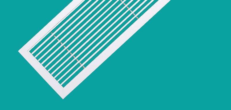 《臺灣?爆款》出風口通風口定制鋁合金0度線條百葉窗中央空調排風口室內【4月15日發完】