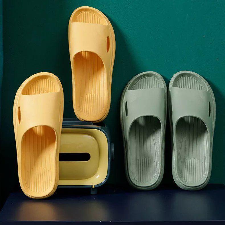 拖鞋男士家用女室内居家居夏季软底防臭浴室洗澡防滑凉拖鞋男夏天