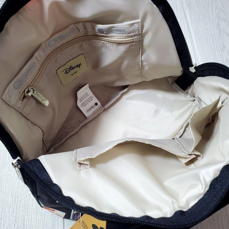 [上新]LeSportsac LeSportsac  聯名款米奇女布包斜挎包手提單肩包袋3354